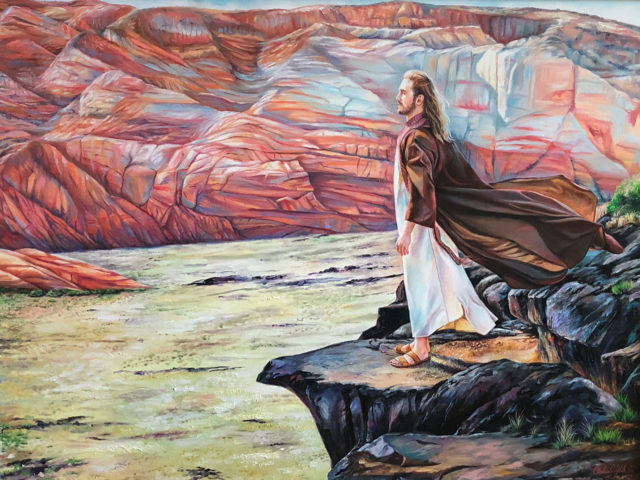 the lord is my rock - by Andrea Kirk