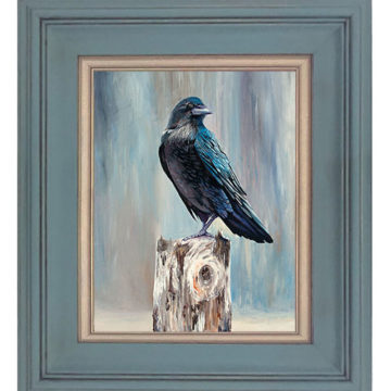 """Winter Raven"" Limited Edition"