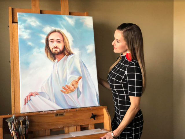 christ painting